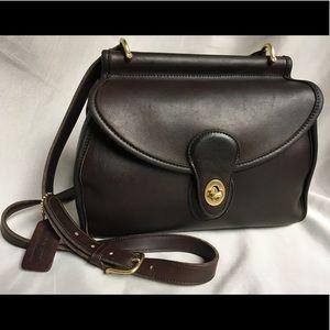 Vintage Coach Logan Crossbody Bag 9907